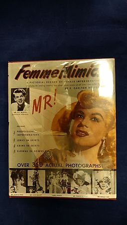 Femme Mimics: A Pictorial Record of Female Impersonation