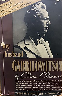 My Husband Gabrilowitsch