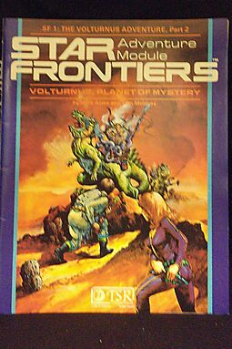 Volturnus, planet of mystery (Star Frontiers adventure 1)