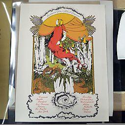 Godspeed You! Black Emperor 2011 Tour Poster