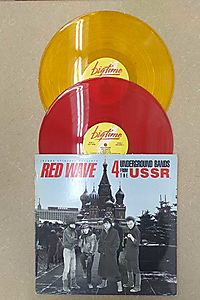 Red Wave- 4 Underground Bands from USSR LP
