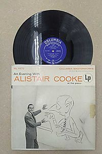 "Alistair Cooke - An Evening With Alistair Cooke EP - 7"" Vinyl 45 Record"