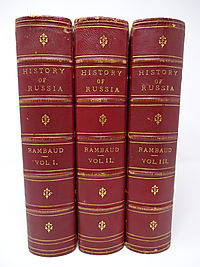 History of Russia (3 Volume Set)