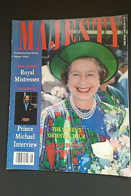 Majesty: The Monthly Royal Review, December 1989