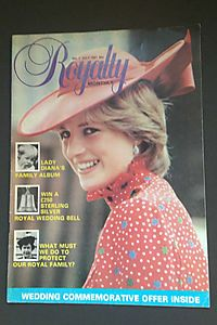 Royalty Monthly # 1, July 1981