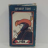 Aquarian Tarot Deck by David Palladini (1-May-1991) Cards