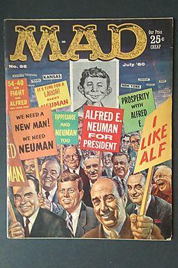 Mad Magazine Number 56