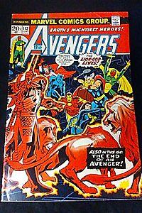 "Avengers #112 ""Lion God Appearance"""