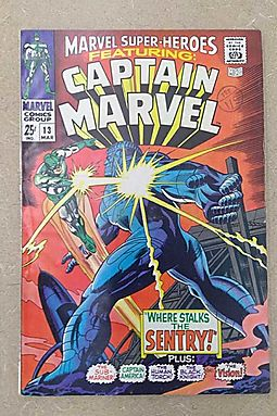 Marvel Super-Heroes (Vol. 1) #13 VG ; Marvel comic book