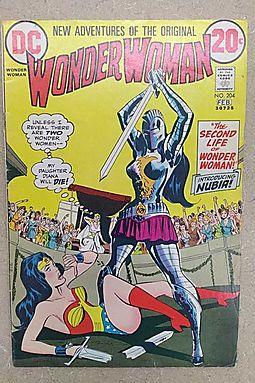 "Wonder Woman # 204 ""Introducing Nubia!"" 1973 February"