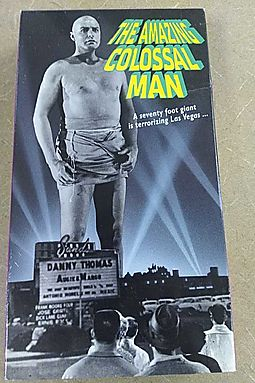 The Amazing Colossal Man [VHS]