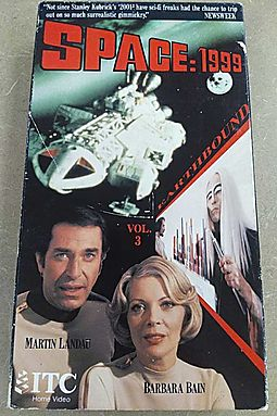 Space 1999:Earthbound [VHS]