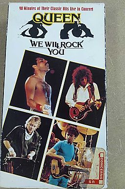 Queen:We Will Rock You [VHS]