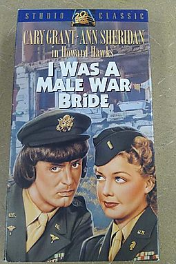 I Was a Male War Bride [VHS]
