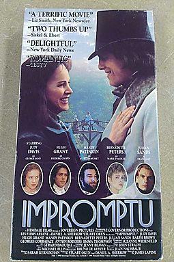 Impromptu [VHS]