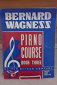 Bernard Wagness Piano Course