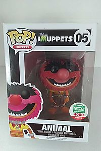Funko Pop! The Muppets: Flocked Animal Limited
