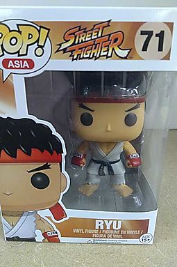 Vinyl Figure Funko SDCC 2016 Exclusive Street Fighter Ryu POP