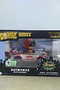 Dorbz Ridez: Batmobile with Batman