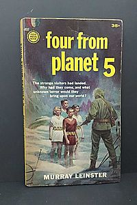 Four From Planet 5 (Gold Medal SF, s937)