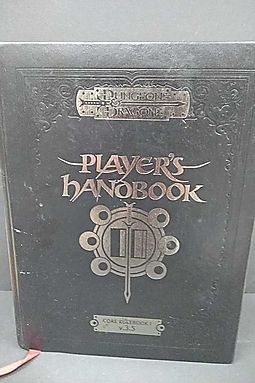 HPB | Search for Dungeons & Dragons Player's Handbook
