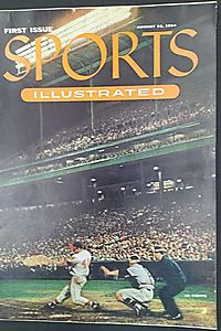Sports Illustrated: First Issue. Volume 1, No. 1, August 16, 1954