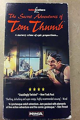 Secret Adventures of Tom Thumb [VHS] by